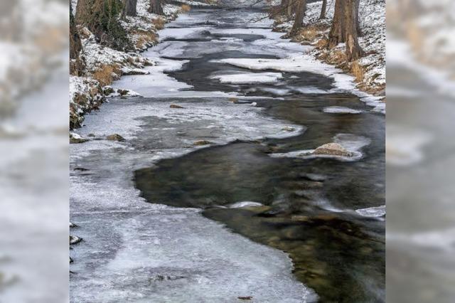 Der bittere Frost hat die Region fest im Griff