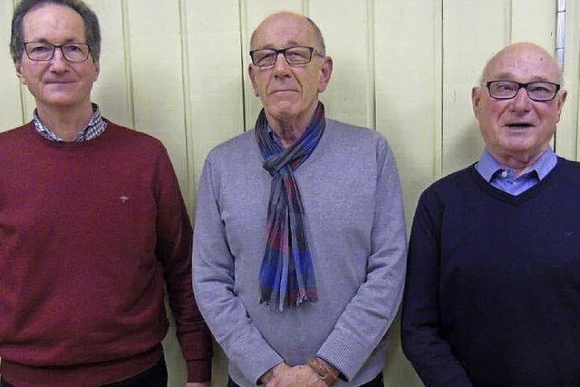 Drei neue Ehrenmitglieder