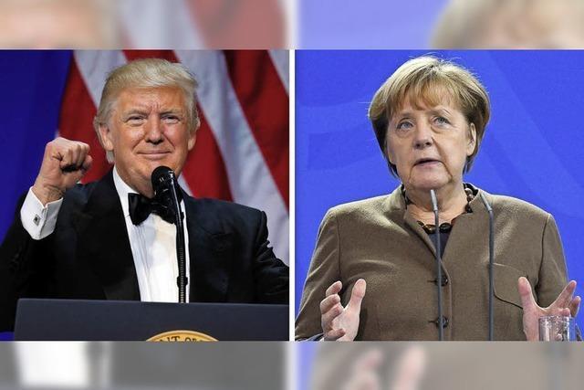 Deutsche Politiker fordern möglichst schnell Gespräche mit dem neuen US-Präsidenten