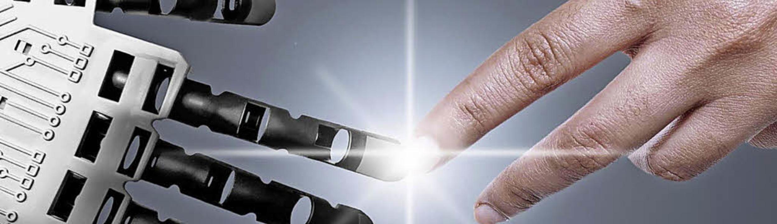 In der Industrie 4.0 werden Maschinen ...ch auch zukünftig seine Arbeit finden.  | Foto: PR