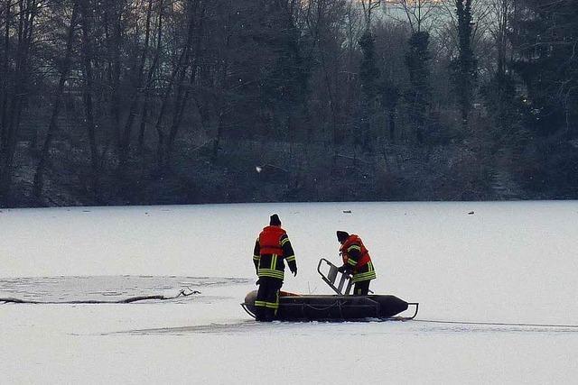 DLRG-Chef warnt vor Eisunfällen auf gefrorenen Seen