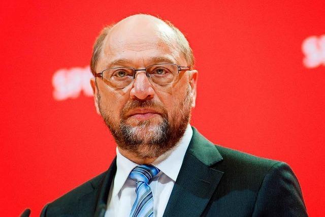 Martin Schulz soll Kanzlerkandidat der SPD werden