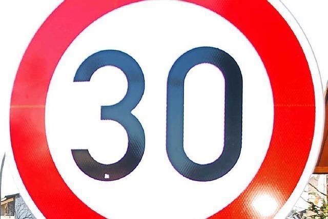 Tempo 30 auf der B34 kommt jetzt schnell