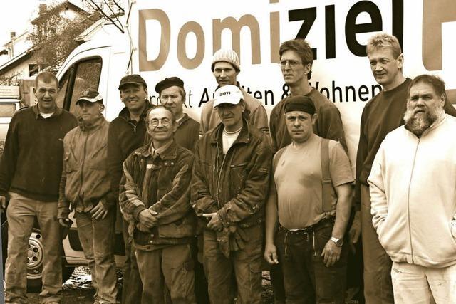Bauunternehmen Domiziel im Dokumentarfilm in Kirchzarten