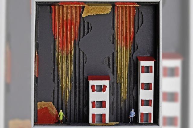 Heinz Heussne zeigt seine Arbeiten in Hartheim