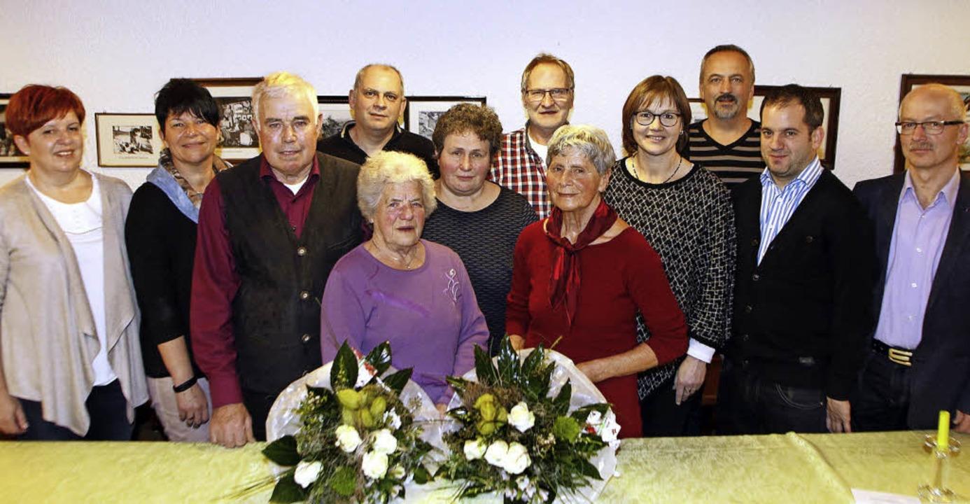 Sie sind engagiert im Vorstand oder se...sitzender Bernhard Vetterer (rechts).   | Foto: Heidi Fössel