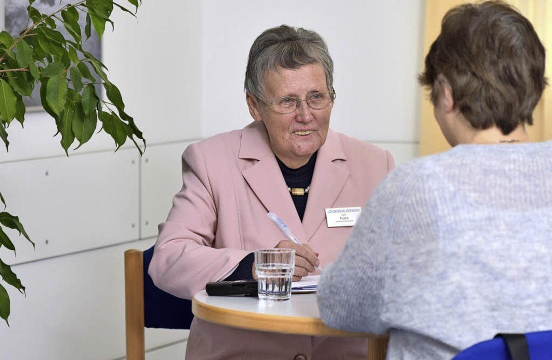 Ingrid Fuchs, Patientenfürsprecherin a...m sie im vergangenen Jahr in Kontakt    | Foto: Ortenau-klinikum