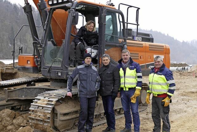 Baustart für Gewerbegebiet