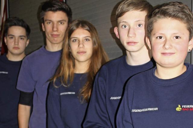 Jugendfeuerwehr ist eine wichtige Stütze