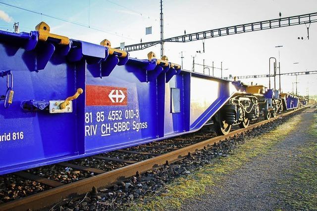 SBB Cargo testen Güterwagen mit neuer Technik