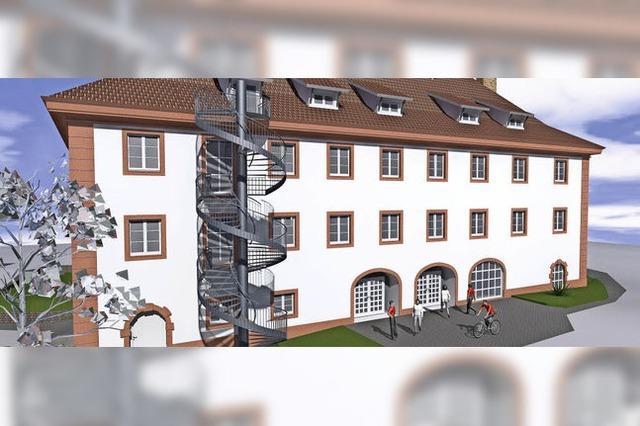 Die rettende Treppe