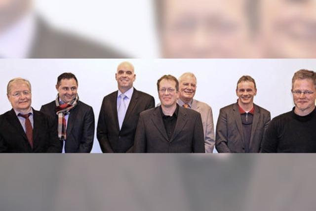 Jetzt wollen eine Frau und acht Männer Bürgermeister werden