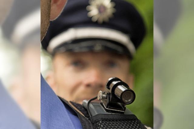 Polizei startet in Kürze Testlauf mit Body-Cams