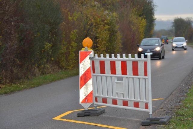 Fischinger Gemeinderat gegen Einengung der Straße nach Binzen