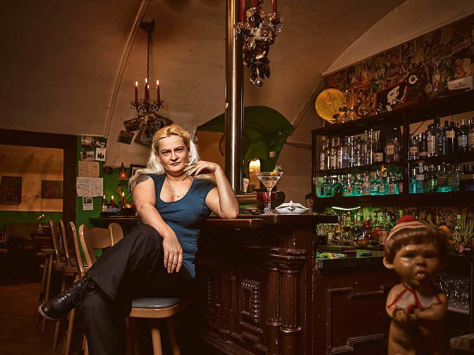 Kadda, Chefin der Bar Erika  | Foto: Felix Groteloh