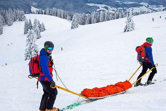 Was Bergwachtmitglieder können müssen