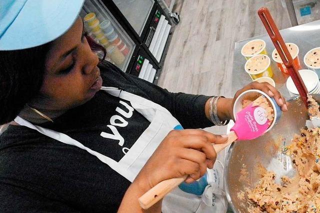 Teig to go: Laden verkauft Keksteig zum Mitnehmen