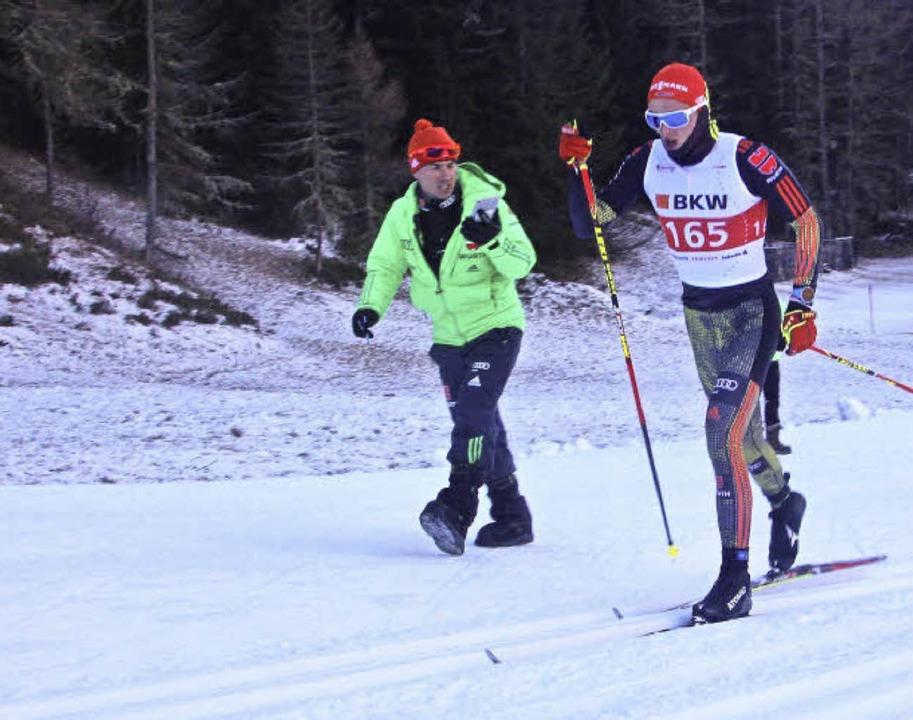 Medaillenkandidat? Janosch Brugger mit... zum Sieg bei einem COC in der Schweiz  | Foto: goller