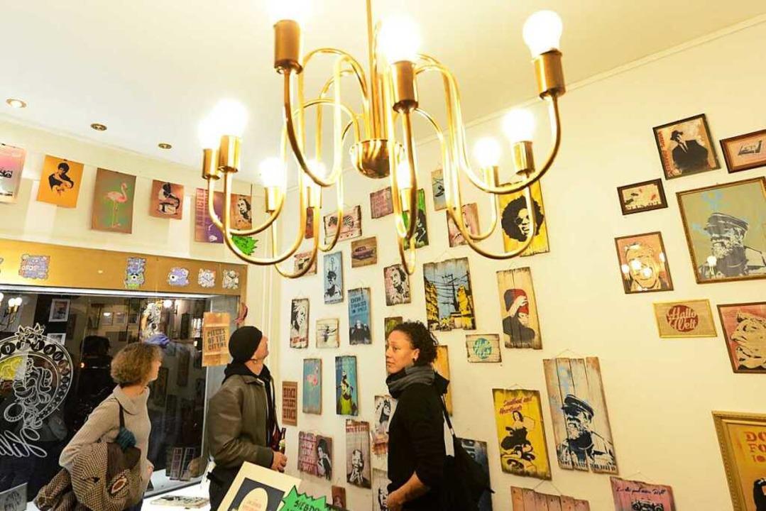 Kunstauktion des Kulturaggregats  | Foto: Rita Eggstein