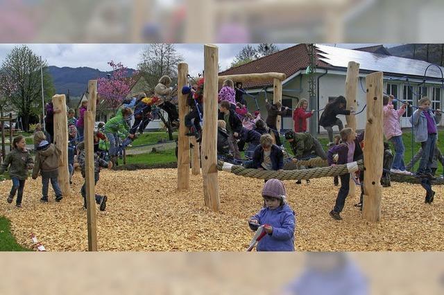 Neue Spielräume für die Kita Elzwiesen