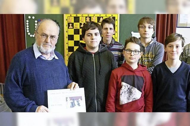 Erfolg für die Schach-AG des THG
