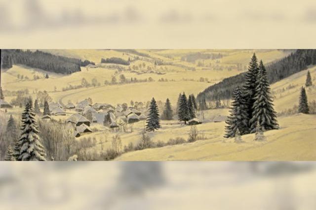 Manfred Wolf zeigt Winterlandschaften in Bernau