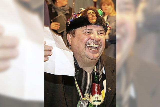 Ein Volksfest für Pfarrer Fietz
