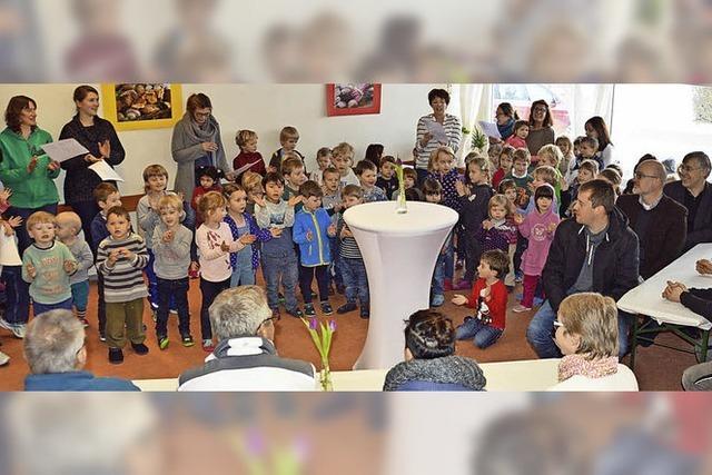 Kindergarten Don Bosco bei laufendem Betrieb saniert