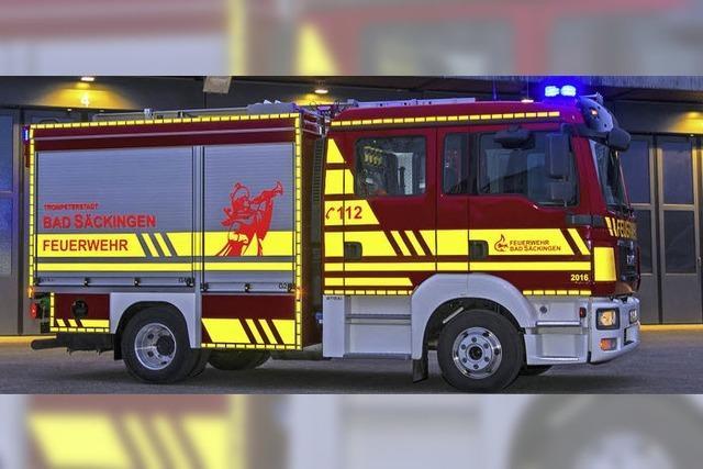 Feuerwehr in neuem Design