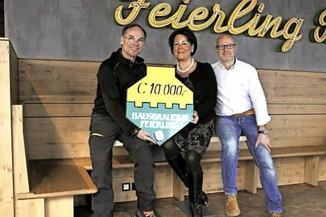 10 000 Euro für ein Krebs-Projekt