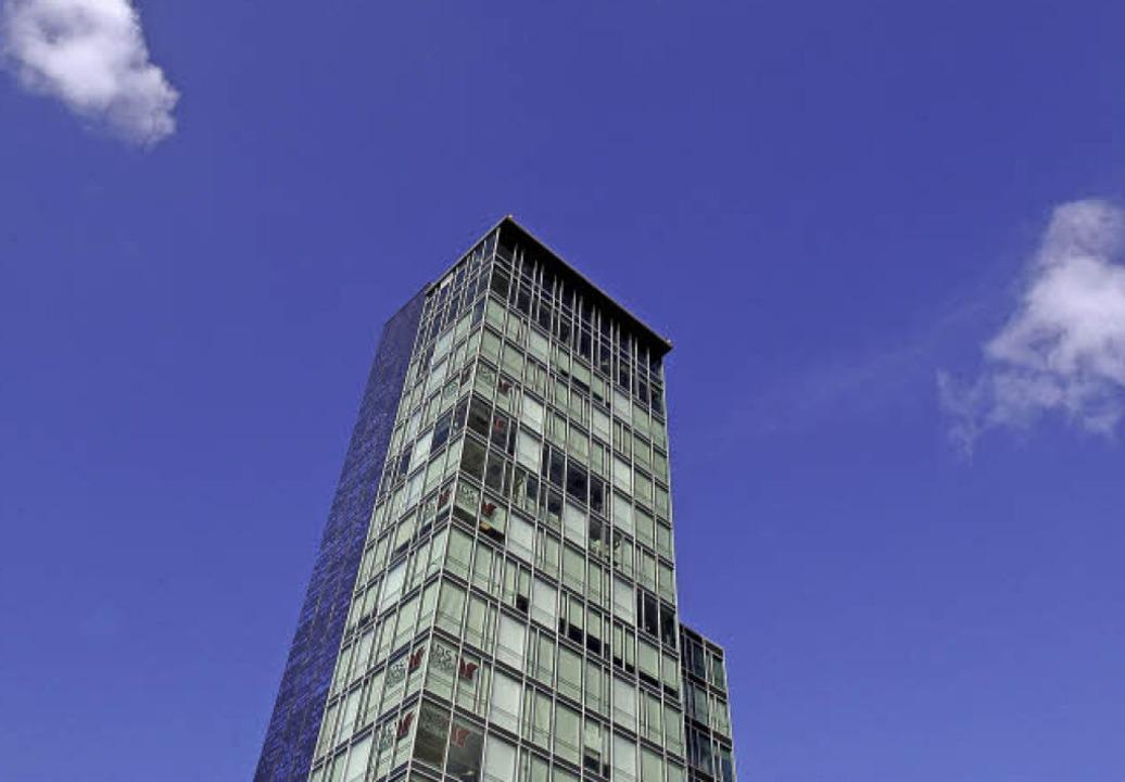 Nur das Münster ist höher: der Bahnhofsturm misst 66 Meter   | Foto: Ingo Schneider
