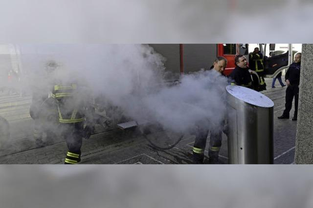 Mülleimerbrand