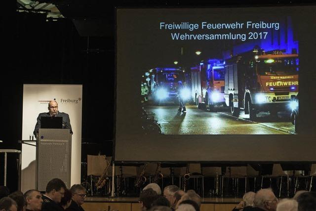 Was die Feuerwehr Freiburg 2016 beschäftigt hat