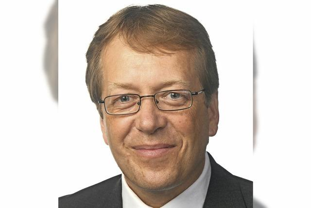 Martin Rießle bewirbt sich