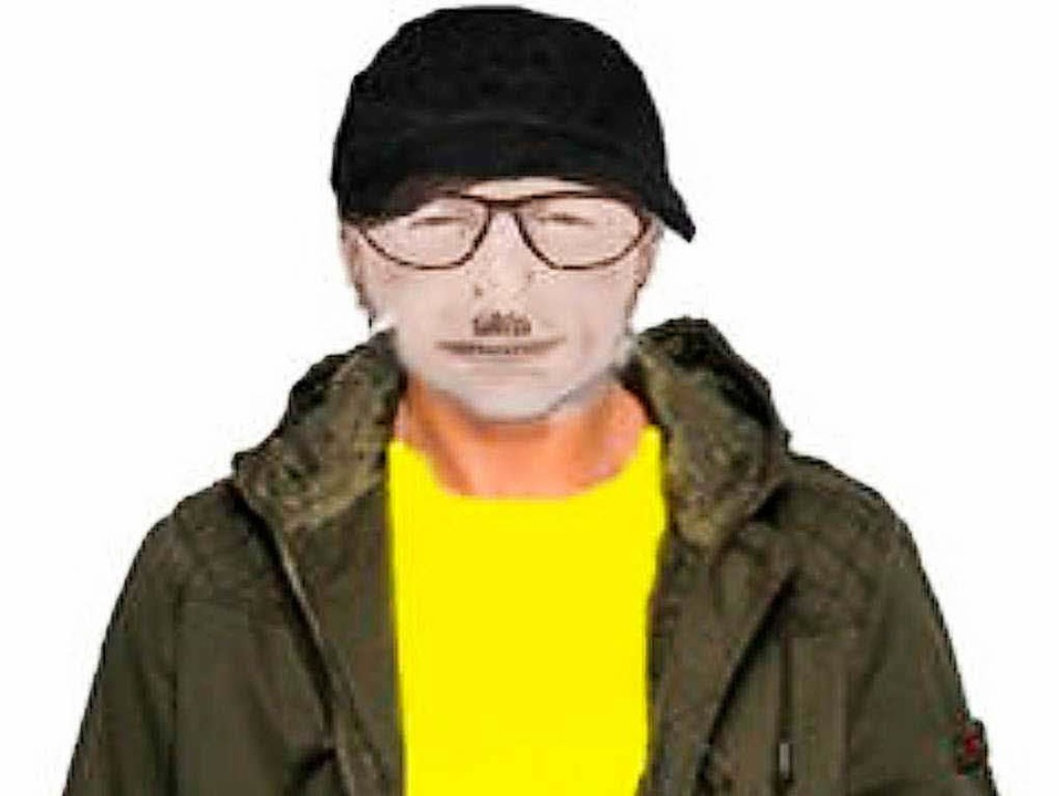 Mit diesem Phantombild fahndete die Po...h dem Mörder der 20-jährigen Lucile K.  | Foto: Polizei
