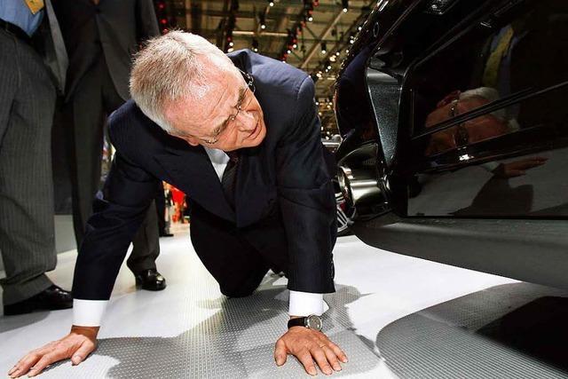 Betrugsverdacht gegen Ex-VW-Chef