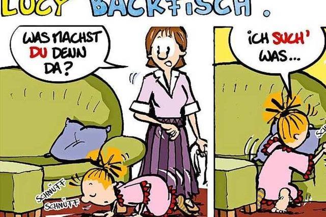 Lucy Backfisch: Immer der Nase nach!