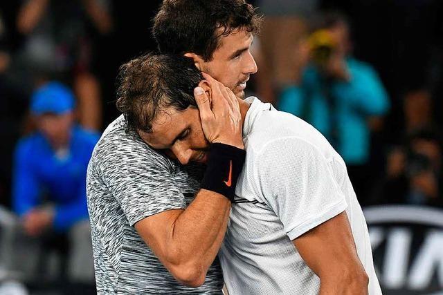 Nadal siegt im Nervenkrieg – Finale gegen Federer