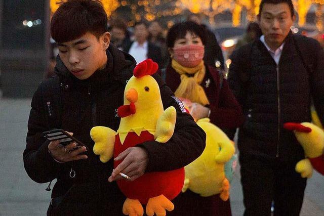 Das chinesische Jahr des Hahns kann mühsam sein