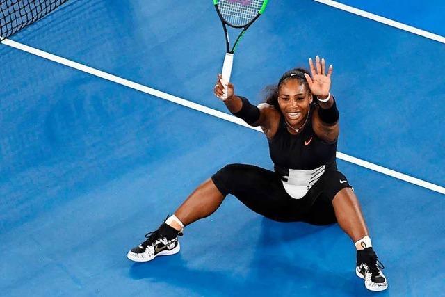 Serena Williams gewinnt Australian Open