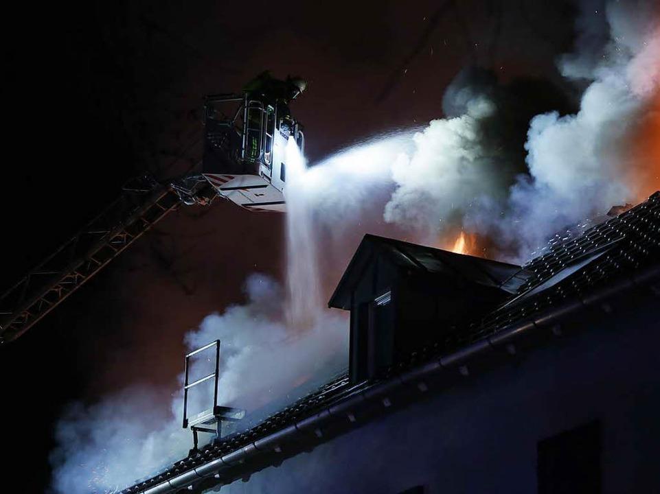 Die Brandursache ist noch unklar.  | Foto: Christoph Breithaupt