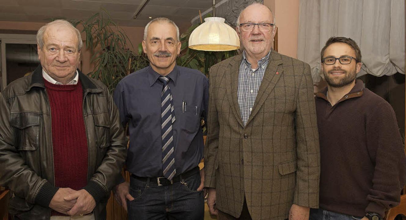 Neuer Vorstand der fusionierten SPD-Or...ter aus Badenweiler, Hans-Dieter Paul.  | Foto: Volker Münch