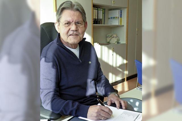 Rektor Peter Schwab geht in den Ruhestand