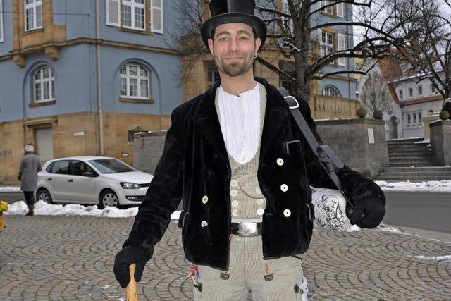 Müllergeselle Stefan Anderegg ist schon seit viereinhalb Jahren auf Wanderschaft