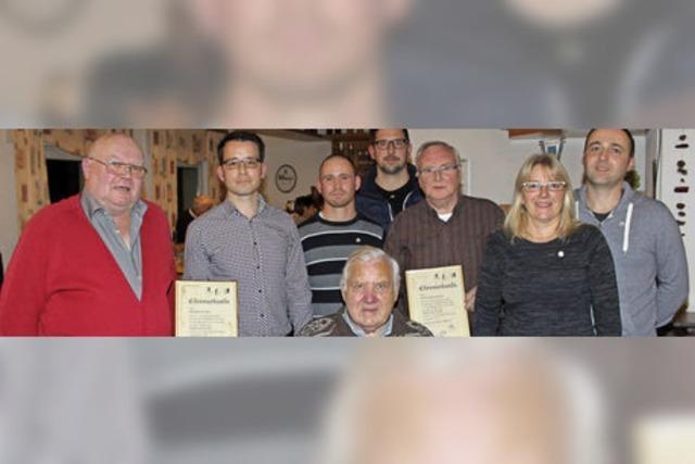 Drei neue Ehrenmitglieder im SVI