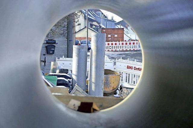 Dauerfrost sorgt für Stillstand auf Baustellen