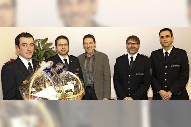 Die Maulburger Feuerwehr war 2016 deutlich stärker gefordert