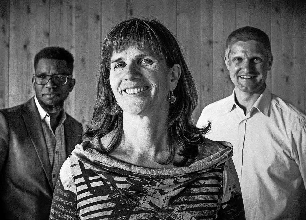 Haben sich zusammengetan (von links): ...rtiz, Grete Skarpeid und Jo Asgeir Lie  | Foto: Bo B. Randulff