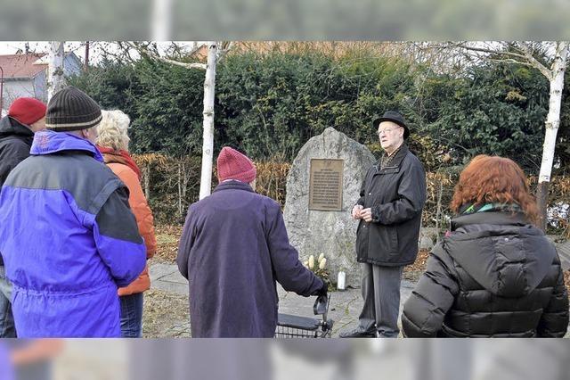 So wurde in Breisach und Ihringen an die Opfer des Holocaust erinnert