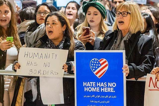 Trump erließ Einreiseverbot, ohne auf Experten zu hören